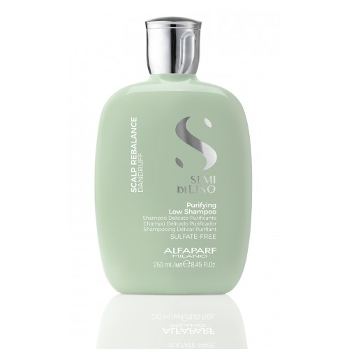 Semi di Lino Scalp Purifying Low Shampoo  -  Sampon de purificare anti-matreata - 250 ml